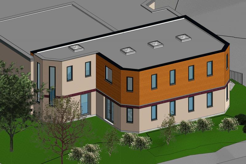 BIM-Model-FNF-Nursery-Extension