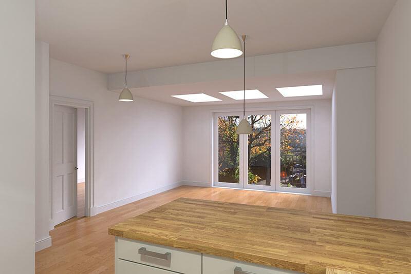 interior-architectural-visualisation-open-plan-kitchen